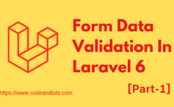 form-validation-laravel-6