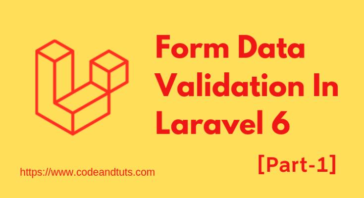 form-validation-laravel-6