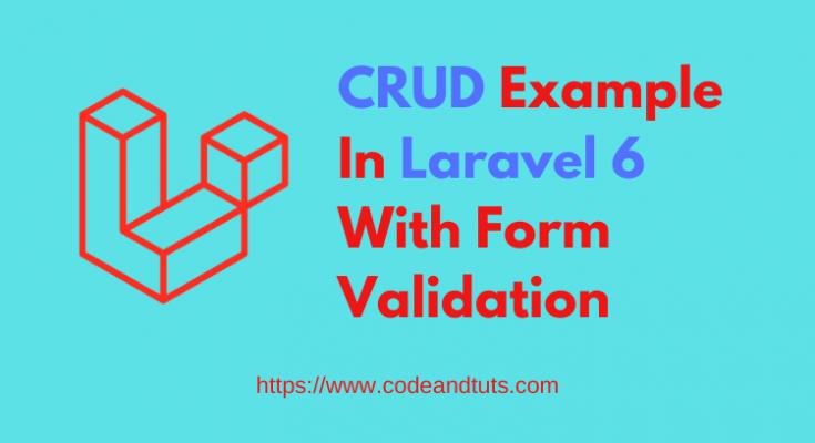 crud-example-in-laravel-6